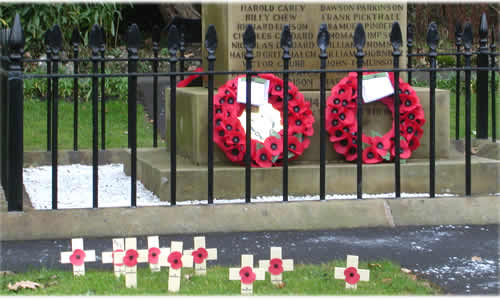Bolton by bowland remembrance day